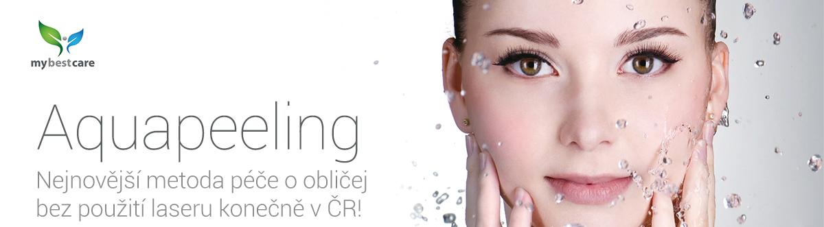Aquapeeling - nejnovější neinvazivní metoda konečně v ČR!
